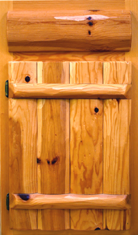 Log Style   Knotty Pine