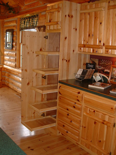 Timber Country Cabinetry Log Style Doors